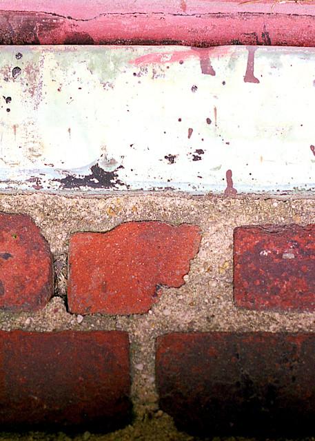Brooklyn Bricks Abstract Fine Art Print – Sherry Mills