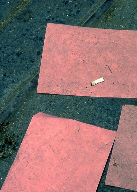 Coffee Break Pink NYC Abstract Street Print – Sherry Mills