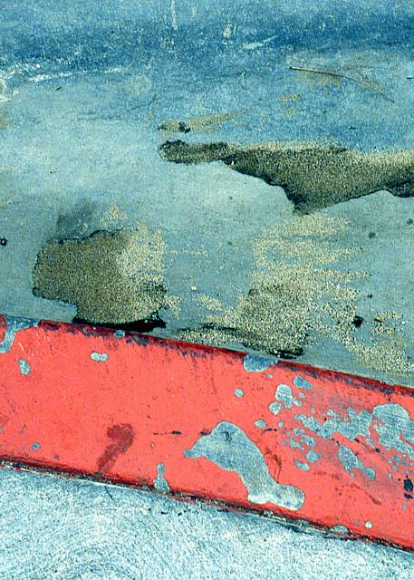 California Dream Abstract Sidewalk Fine Art – Sherry Mills