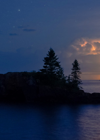 Lightning At Hollow Rock Photography Art   William Drew Photography