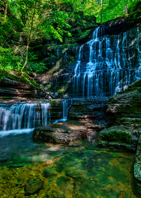 Machine Falls - Tennessee waterfalls fine-art photography prints
