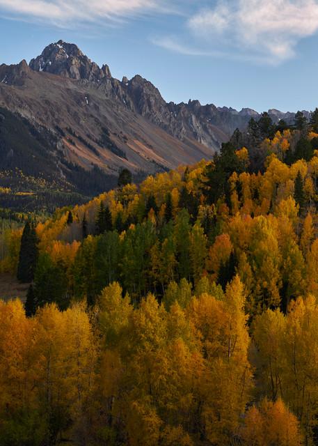 Fall Evening at Mt Sneffels