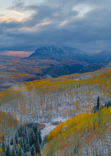 Kebler Pass In The Fall  Photography Art | Alex Nueschaefer Photography