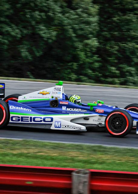 Geico Formula 1 Car Photography Art | Cardinal ArtWorks LLC