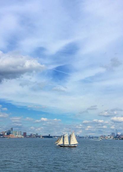 New York Harbor Art | Romanova Art