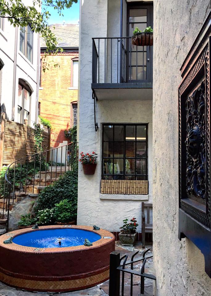Rembrandt's Courtyard Art | Romanova Art
