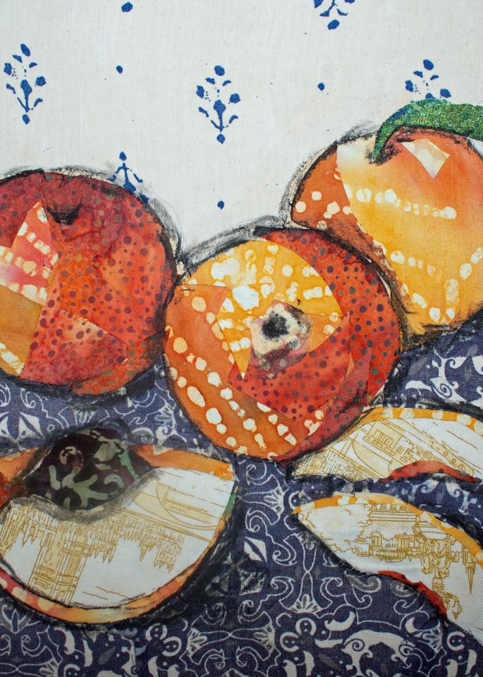 Peaches Print Art | Sharon Tesser LLC