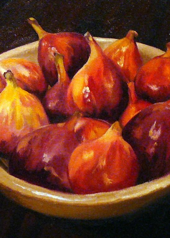Figs In A Bowl Art | Helen Vaughn Fine Art