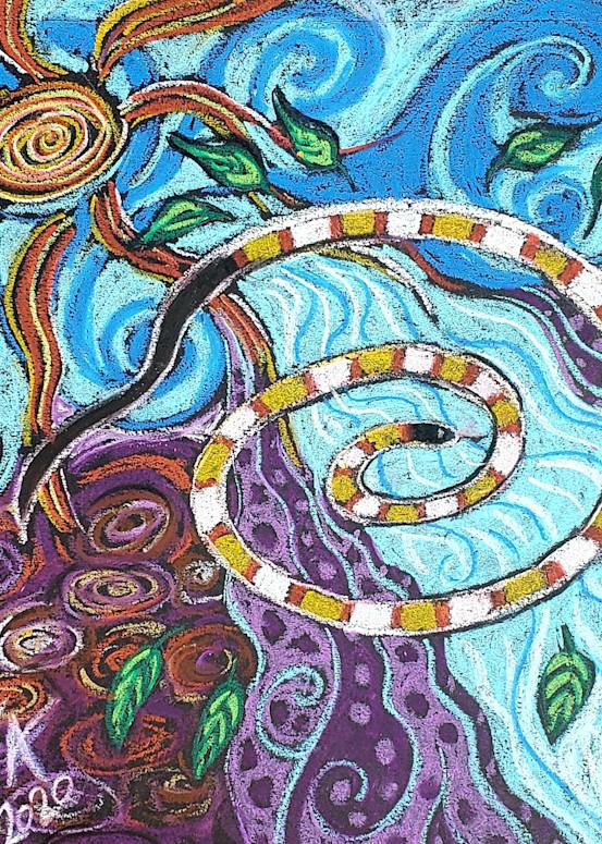 Spiral Dance Art | Bright Spirit Studio