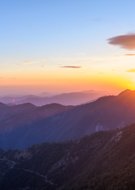 Evening At Moro Rock Photography Art | Casey McFarland Photography