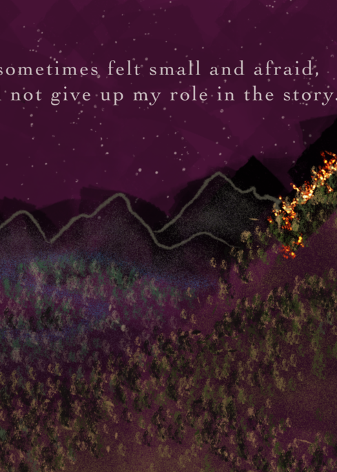 My Role In The Story Art | Meera Graham, LLC