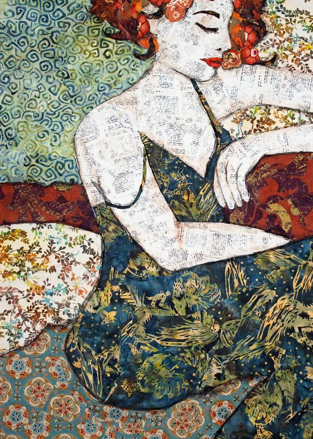 Red Head Print Art | Sharon Tesser LLC