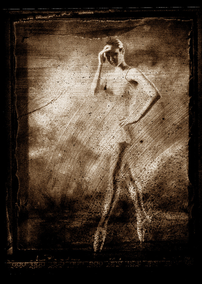 A Sketchy Ballerina Photography Art | Christopher Grey Studios