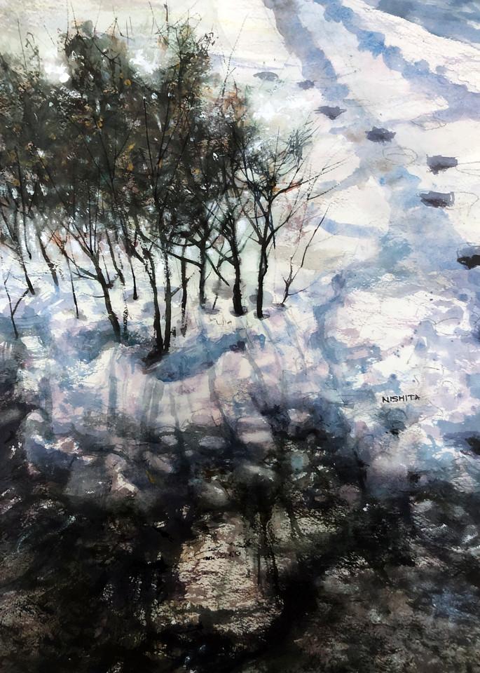 Welcoming Winter Again  Art | Nishitas Art