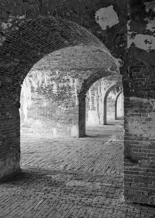 Fort Morgan Arches from Angle
