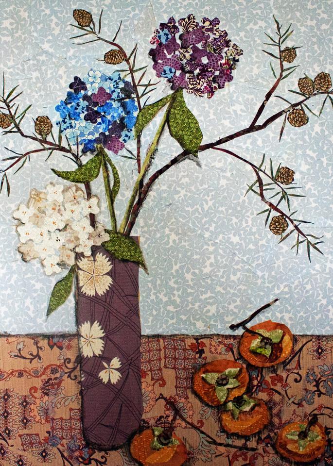 Persimmons And Pine  Print Art | Sharon Tesser LLC