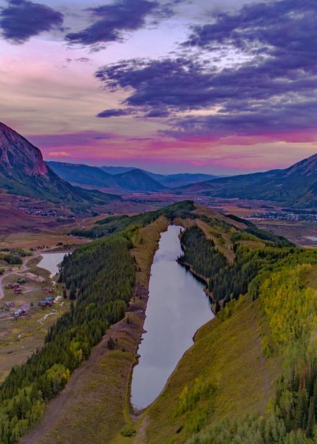 Long Lake Sunset Photography Art   Alex Nueschaefer Photography