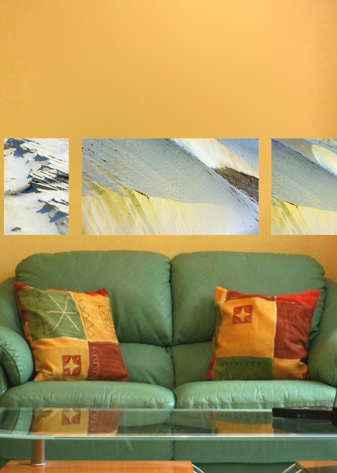 Sand Dune Shapes Hanging Example
