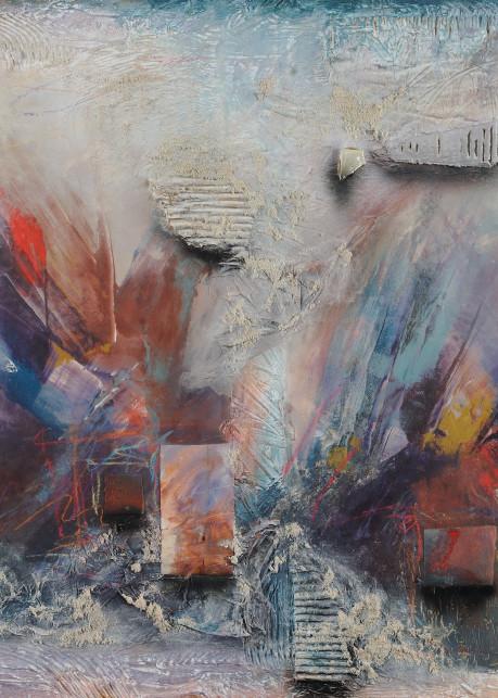Fresco Nuevo 2  (Print) Art | Laurie Fields Studio