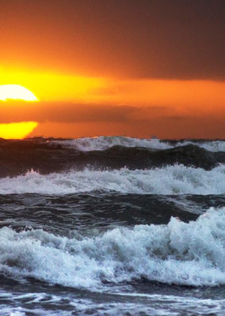 Sunrise At Juno Beach Art | karenihirsch