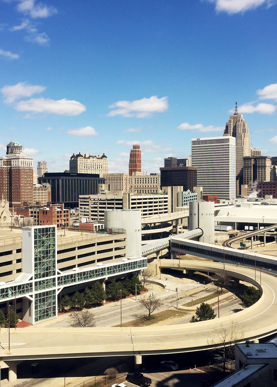 0015 Freeways And Skyline Art | Picture Detroit