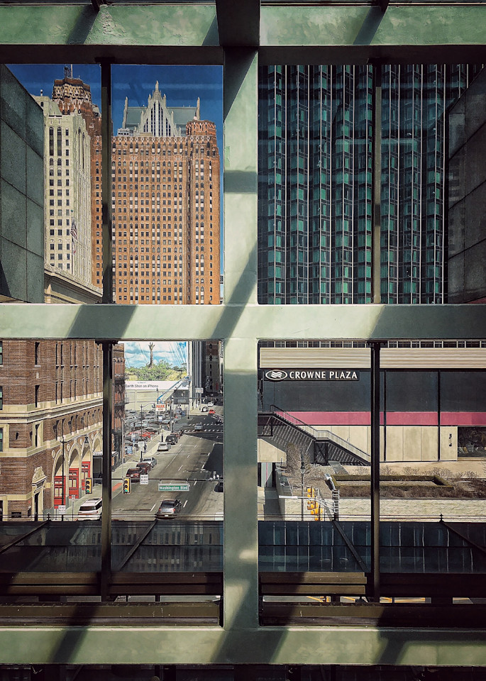 Giraffe In Detroit Art | Picture Detroit