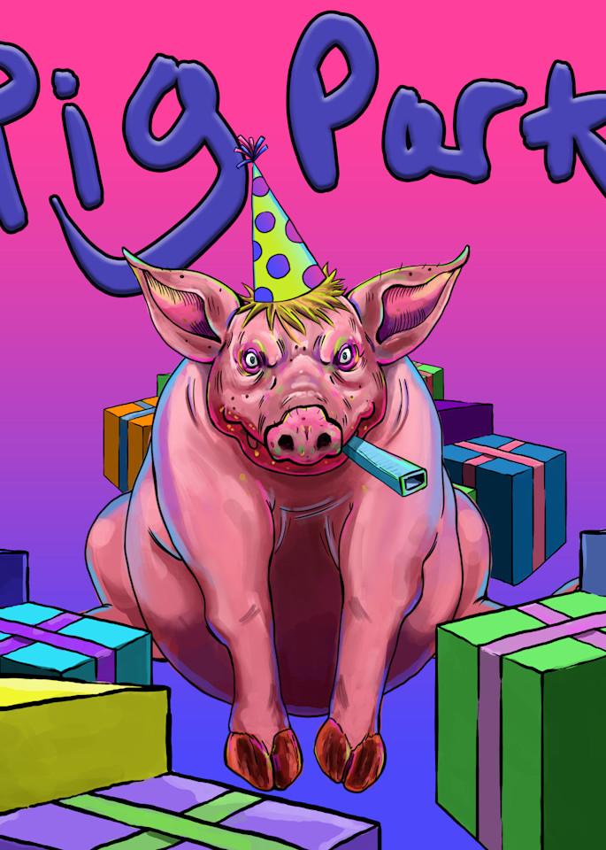 Pig Party Art   Matt Pierson Artworks