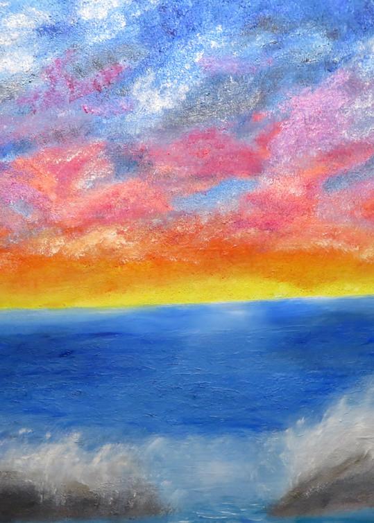 Coastal Splash Art | Artist Ron Turner