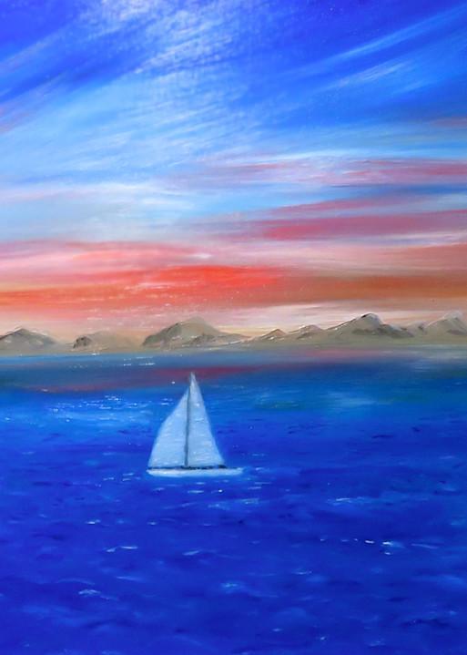 Sailing The Coast Art | Artist Ron Turner