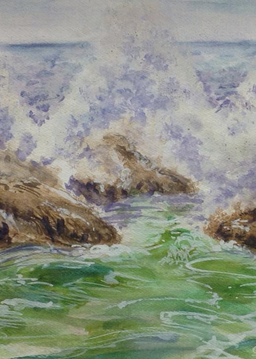 Tidal Splash Art   Nosco Fine Art