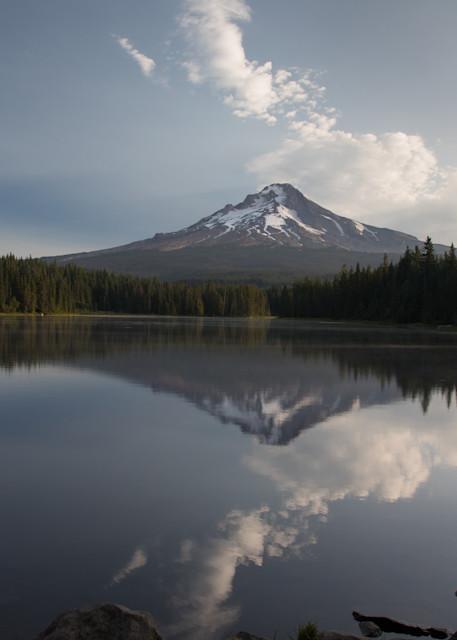 Mt. Hood Sunrise Reflection Photography Art | Leiken Photography