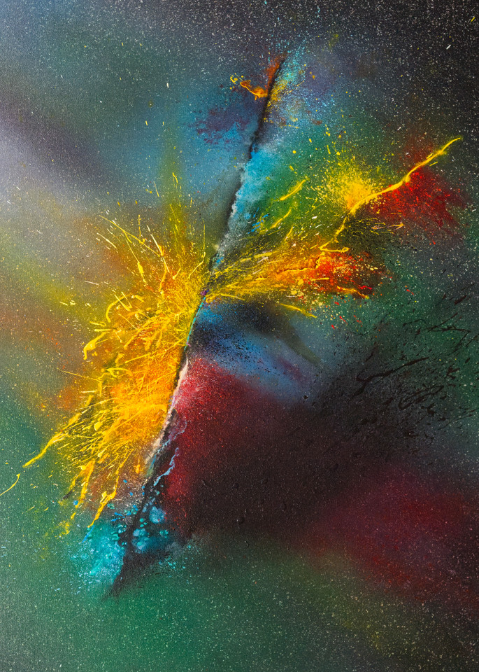 Fervent Threshold - Giclee reproduction of art by David Copson