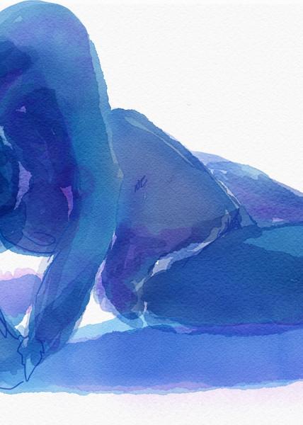 Am I Blue? Art   Nosco Fine Art
