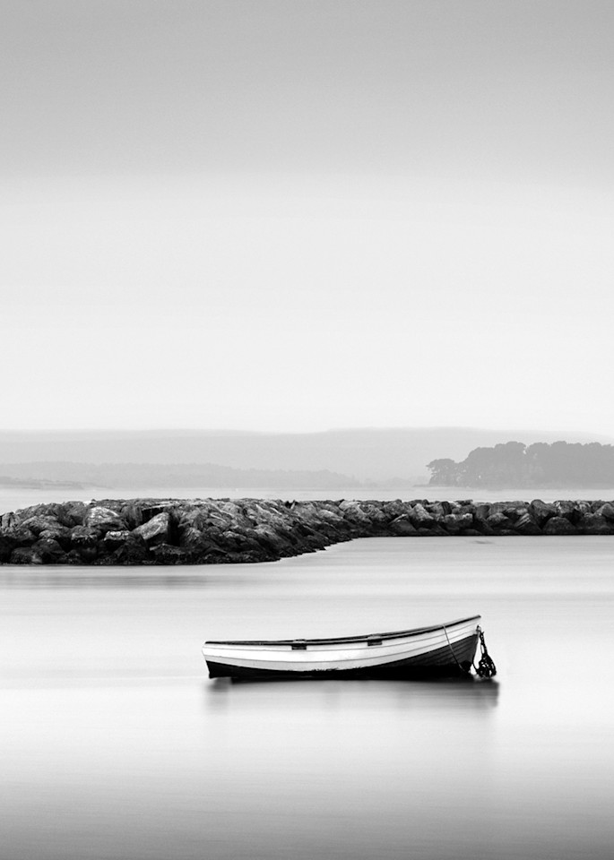 Boat In Poole Harbour Art | Roy Fraser Photographer