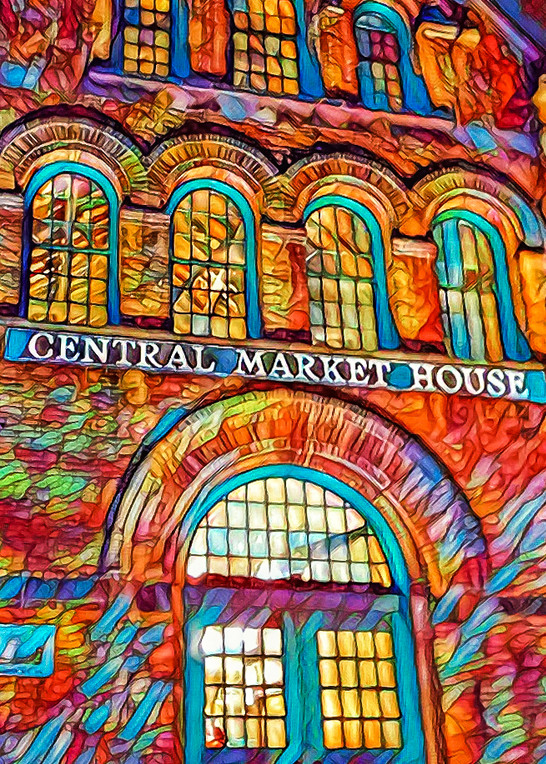 """""""Psychedelic Central Market"""" Photography Art   Inspired Imagez"""
