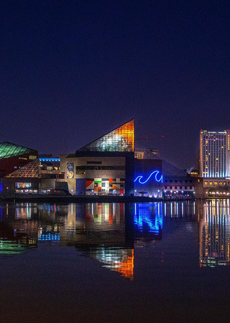 """National Aquarium Inner Harbor"" Photography Art   Inspired Imagez"