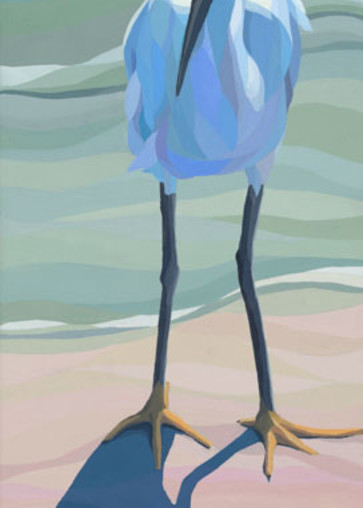 """Reproductions from """"Me and My Shadow"""", an original 12x36 acrylic on canvas."""