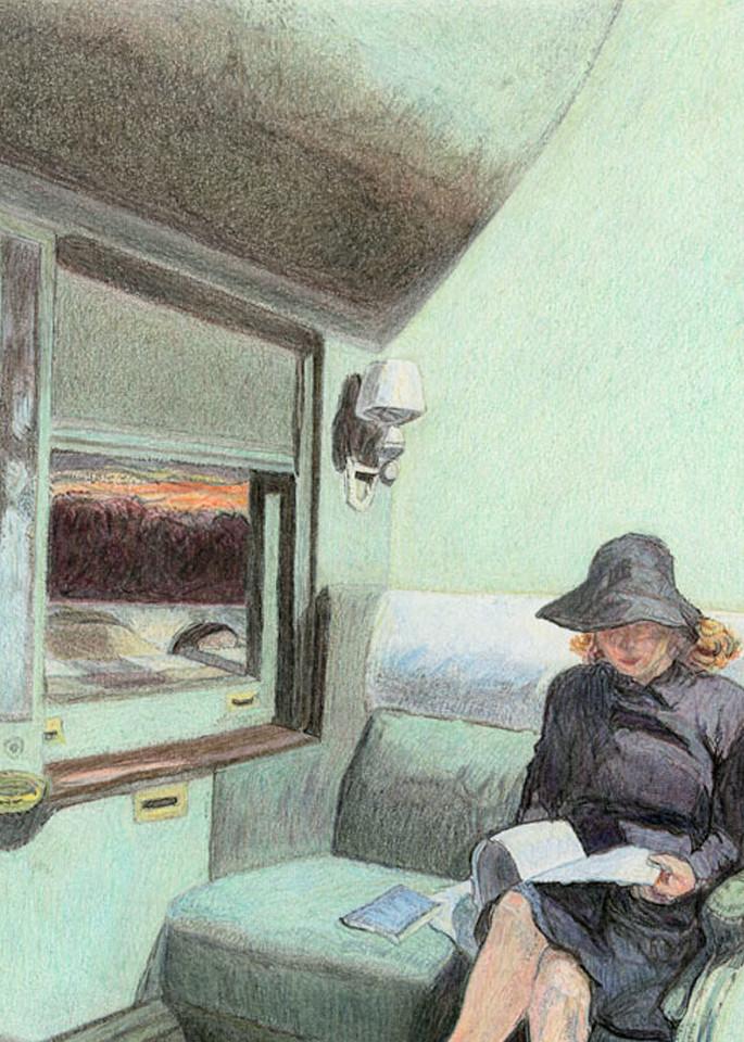 Compartment C, Car 193 Art | Digital Arts Studio / Fine Art Marketplace