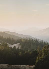 Carpe Diem -  panoramic Northern California sunset photograph print