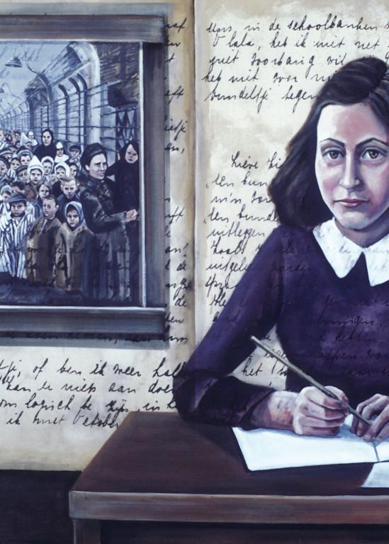 Anne Frank, The Last Page Art   Channe Felton Fine Art