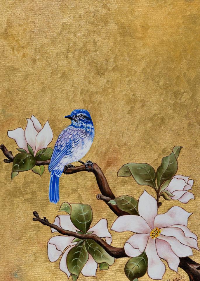 Bluebird Of Happiness   Landed:  Prints Art | Mercedes Fine Art