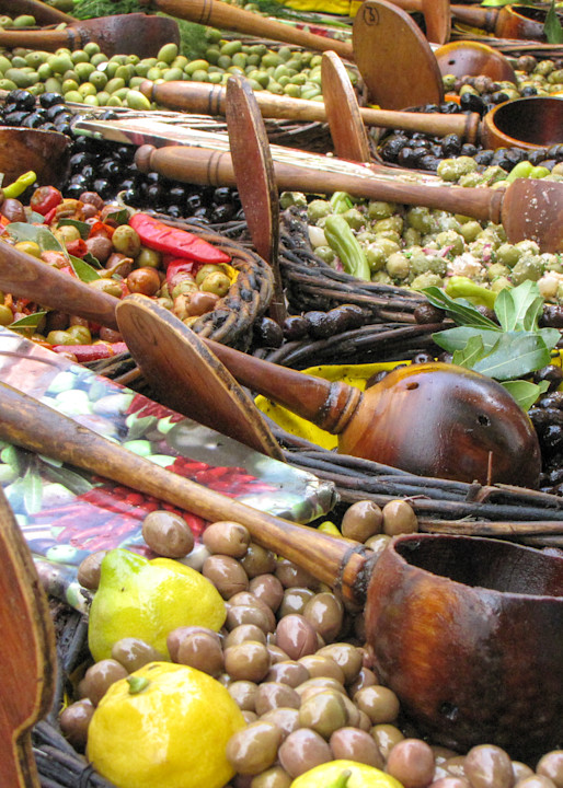 Provence Olives On Display In The Market Photography Art   Julie Williams Fine Art Photography