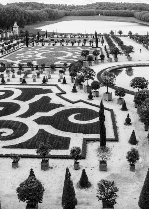 Versailles Gardens And Fountains B&W Photography Art   Julie Williams Fine Art Photography