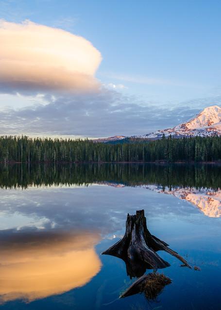 Sunset, Takhlakh Lake, Washington, 2016