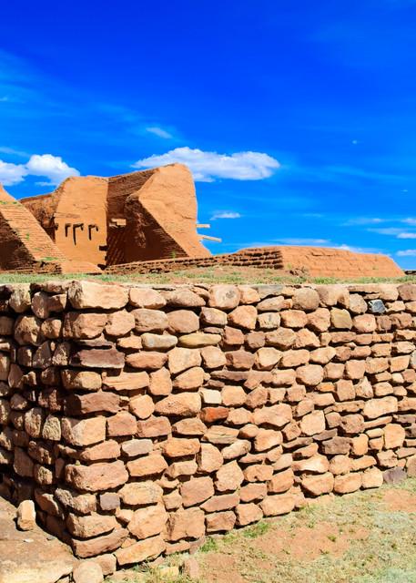Pecos Pueblo Mission - A Fine Art Photograph by Marcos R. Quintana