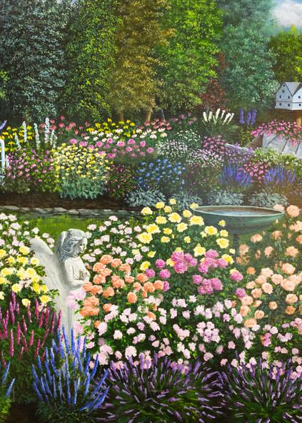 Melissa's Gardens Art   Mark Grasso Fine Art