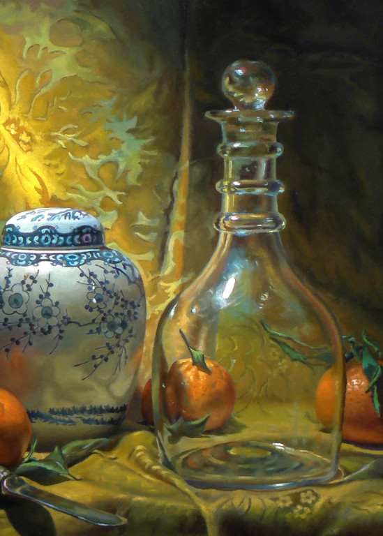 Four Oranges Art   Jeff Hayes Fine Arts
