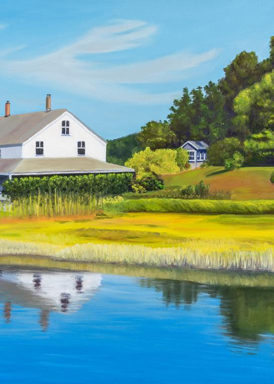 At The Edge Of The Marsh Art   The Art of David Arsenault