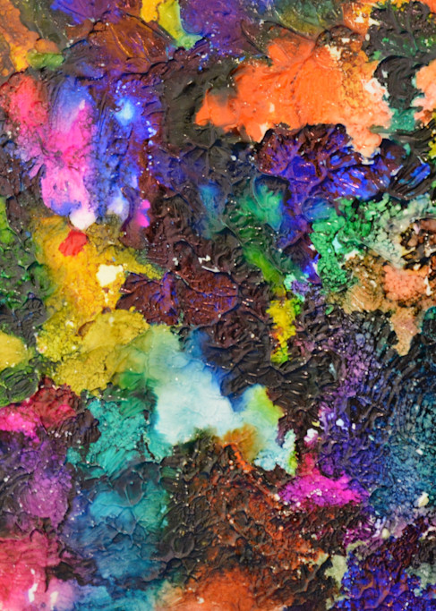 Color On Crack Photography Art | Thistle-Dhu