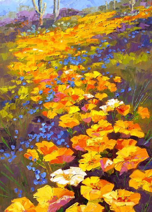 Follow The Poppy Trail Art   Linda Star Landon Fine Art